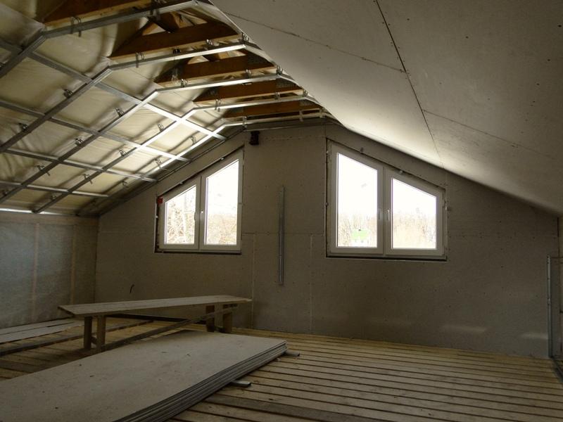 Отделка крыши и стен деревянного дома минеральной ватой